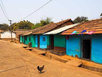voyagez en orissa ou odisha visiter les campagne de l'est de l'inde et ses maisons colorées avec l'agence de voyage thisy-travels www.thisytravels.fr
