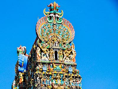 temple de shiva en inde du sud à madurai dans le tamilnadu . www.thisytravels.fr