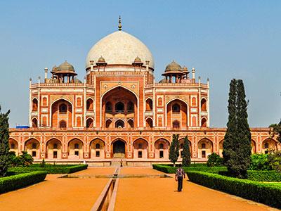 Le maulsolée d'Humayumtumb à delhi à visiter avec Thisy-Travels www.thisytravels.fr