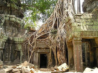 La citée d'Angkor-vat à visiter avec Thisy-Travels www.thisytravels.fr