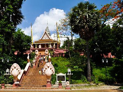 à phnom-penh au cambodge, visite du palais avec Thisy-Travels www.thisytravels.fr