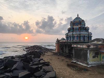 voyage dans le tamilnadu à Tarangambadi en inde du sud avec l'agence de voyage thisy-travels www.thisytravels.fr
