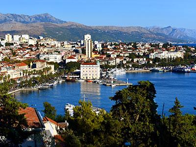 voyagez en europe, en croatie découvrir de magnifiques architectures comme la ville de split et paysages avec l'agence de voyage thisy-travels sur le site www.thisytravels.fr