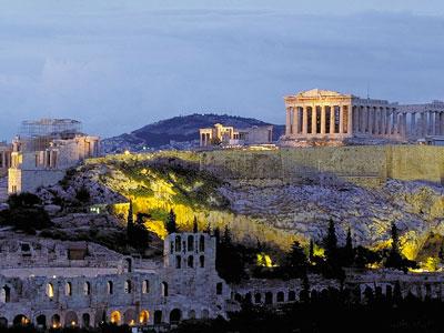 voyagez en europe, en grece découvrir de magnifiques architectures comme l'acropolis et paysages avec l'agence de voyage thisy-travels sur le site www.voyageindien.fr